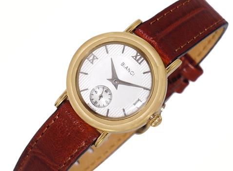 LeChateau Women's  Gold Tone, White  Dial,  LC2201-LGWT_BN (Retail at $320.00)