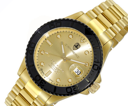 Men's Automatic - Magnifying Date Dial with Exhibition Back case - LC2G255GOGO- Retail at (MSRP: $ 2,124.00)