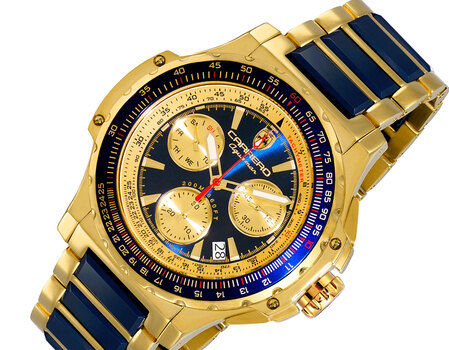 Men's Chronograph with Function Pushers, High-tech Ceramic case and band,  LC2G555BU Retail at (MSRP: $ 2,244.00)