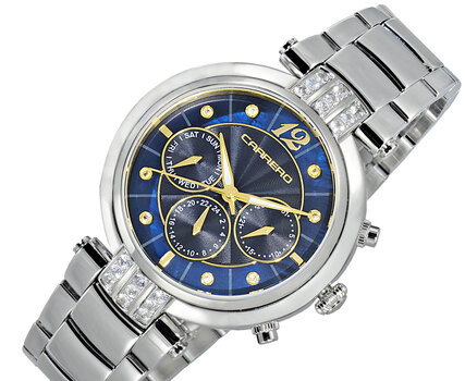 Multi-function, Day-date Counter, Blue Mother of Pearl Dial, with Function Pusher, CL1S03BUGO, Retail at (MSRP: $1,668.00)