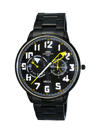 MULTI-FUNCTION, LUMINOUS HAND DAY-DATE DIAL, ON2233-MIPB RETAIL AT $375.00