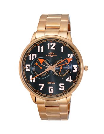 MULTI-FUNCTION, LUMINOUS HAND DAY-DATE DIAL, ON2233-MRG RETAIL AT $375.00