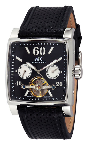 SEAGULL 20-JEWELS  MECHANICAL-AUTOMATIC, STAINLESS STEEL, , AK9043-MBK - RETAIL AT $650.00