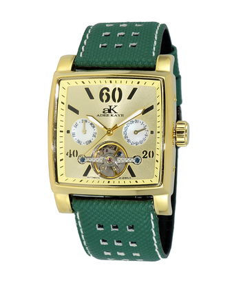 SEAGULL 20-JEWELS  MECHANICAL-AUTOMATIC, STAINLESS STEEL,  AK9043-MG/LBGN - RETAIL AT $650.00
