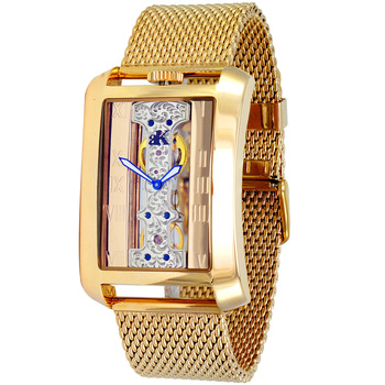 Skeleton Mechanical Movement, Mesh Band, AK7171-MG/MESH - Retail at $800.00
