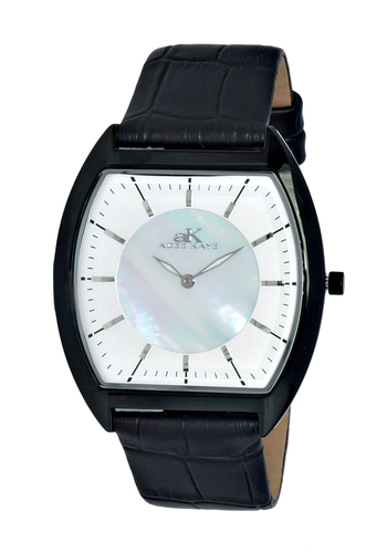 SLIM WATCH, MOTHER OF PEARL DIAL, AK2200-MIPSV - RETAIL AT $245.00