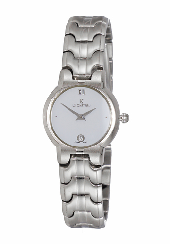 Stainless Steel, Day-Date White Dial, LC-4LWT