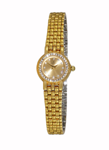 Stainless Steel, Gold tone,  Gold Dial, LC1099-LGG