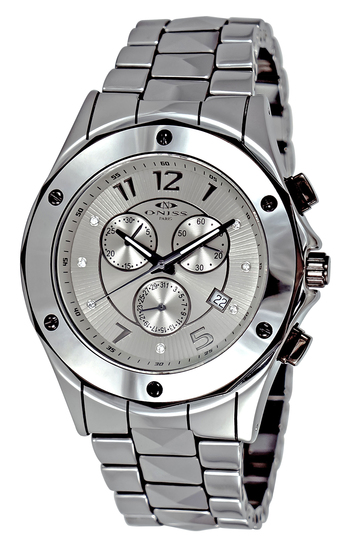 SWISS CHRONOGRAPH MOV'T, HIGH TECH CERAMIC, ON1003-MIPG - RETAIL AT $845.00