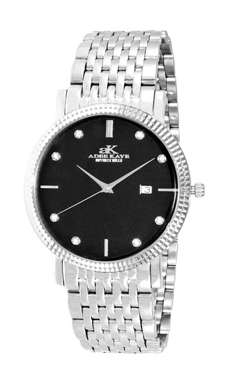 SWISS MOVEMENT, AUSTRIAN CRYSTAL ACCENT, AK4801-MBK, RETAIL AT $345.00