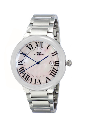 SWISS MOVEMENT, DATE MOP DIAL , ON1111-LWT - RETAIL AT $445.00