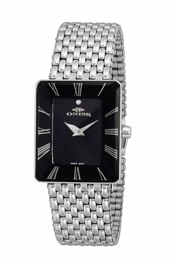 SWISS MOVEMENT, FACETED CRYSTAL ACCENT, ON4242-10_LBK - RETAIL AT $425.02