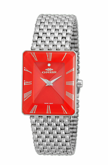 SWISS MOVEMENT, FACETED CRYSTAL ACCENT, ON4242-11_LRD - RETAIL AT $425.01