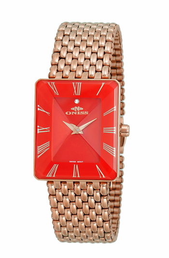 SWISS MOVEMENT, FACETED CRYSTAL ACCENT, ON4242-31_LRGRD - RETAIL AT $425.00