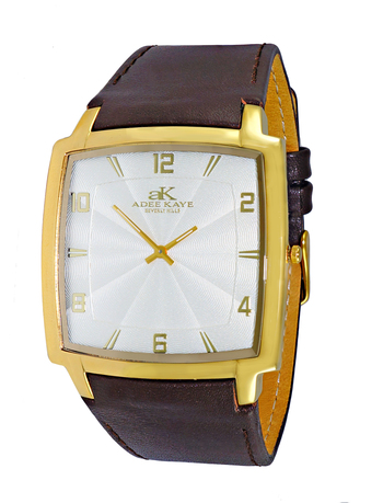 SWISS MOVEMENT, SLIM WATCH , GOLD TONE, AK2221-MG/WT RETAIL AT $250.00