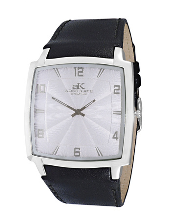 SWISS MOVEMENT, SLIM WATCH , SILVER TONE, AK2221-M/WT RETAIL AT $250.00