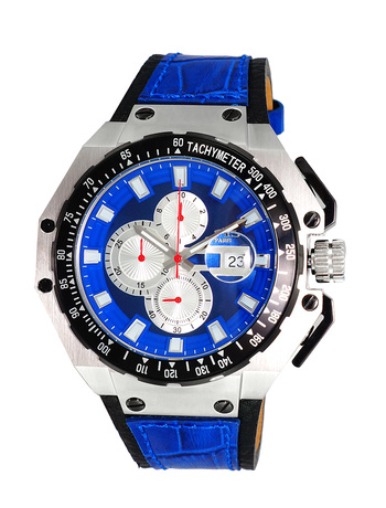 SWISS MOV'T, SANDWICH CASE 25 PIECE CASE,  CHRONOGRAPH WITH TYCH YMETER, ON3255-MBU - RETAIL AT $825.00