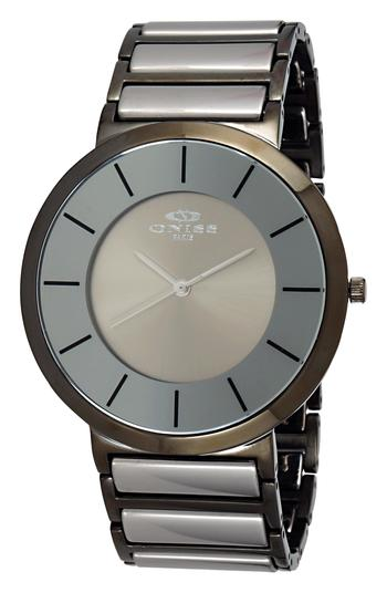 Swiss Parts, High Tech Ceramic Watch, ON1004-MIPG, Retail at $595.00