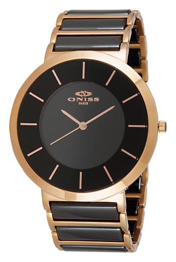 Swiss Parts, High Tech Ceramic Watch, ON1004-MRGBK, Retail at $595.00