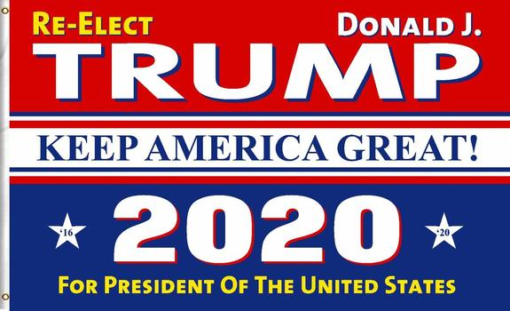New Flag 3x5 Trump Keep America Great 2020 Flag for 2020 Presidential Election Donald Trump