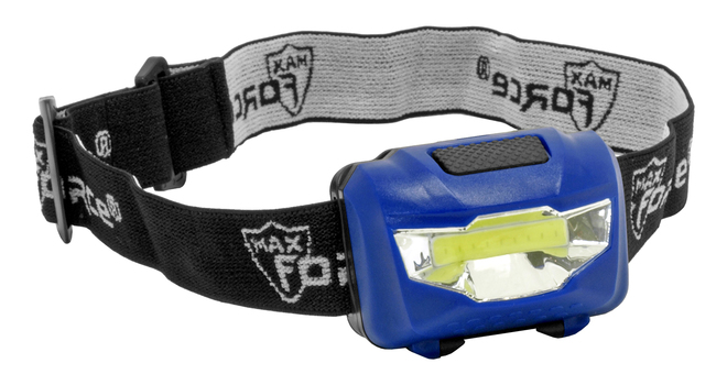 New Ultra Bright LED Head Light - Assorted Colors