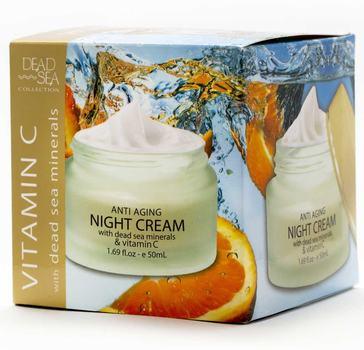 New Made In Israel Vitamin C Anti-Aging Night Cream