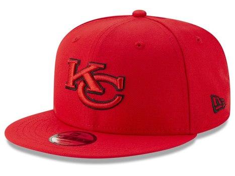 NFL Kansas City Chiefs New Era 9FIFTY Snapback Cap OSFM