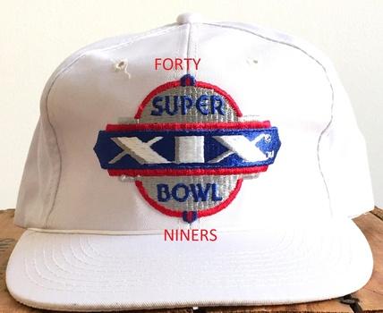 NFL Vintage San Francisco 49ers Super Bowl XIX Snap Back Hat Circa 1984