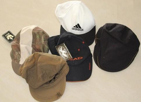 Adidas Plus Assorted Mix Of Hats 5pcs