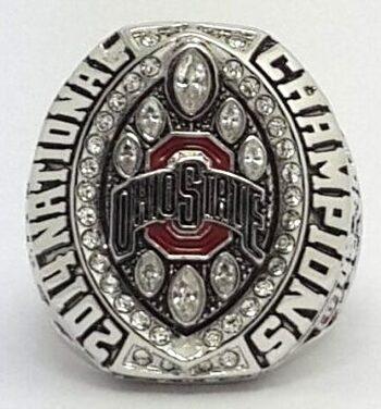 NCAA Ohio State Buckeyes Championship Replica Ring Size 10