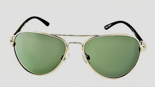 Foster Grant Men's Metal Aviator Polarized Sunglasses