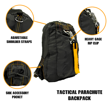 New Tactical Parachute Backpack