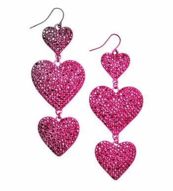 New Thalia Heart Earrings