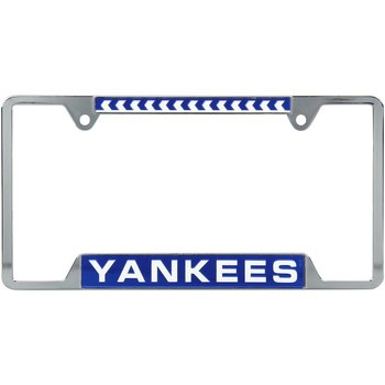 Made In USA WinCraft MLB Unisex-Adult Metal License Plate Frame NY Yankees!