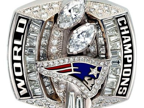 Tom Brady Patriots 2002 Super Bowl XXXVII Championship Replica Ring Size 11