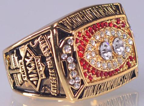Washington Redskins 1987 Replica Super Bowl XXII Championship Ring Size 12