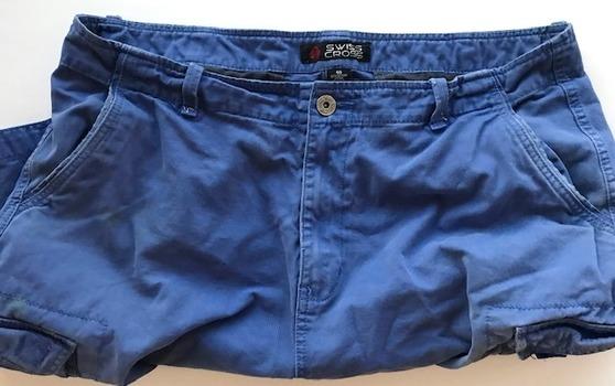 Swiss Cross Men's Cargo Shorts Size 40