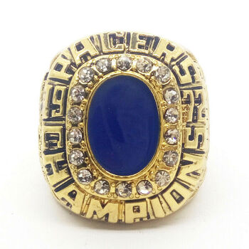 1972 Indiana Pacers CANNON NBA Finals 18k GP Brass Championship Ring
