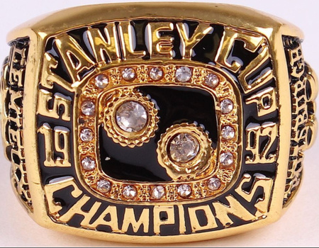 Mario Lemieux Penguins High Quality Replica 1992 Stanley Cup Championship Ring