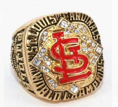 2006 St. Louis Cardinals World Series REPLICA Ring PUJOLS