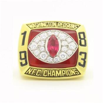 1983 Washington Redskin REPLICA Ring