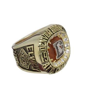 NFL 1987 Elway Denver Broncos Championship REPLICA Ring
