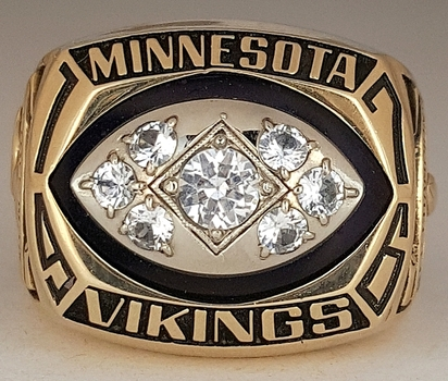 1976 Minnesota Vikings Championship REPLICA Ring
