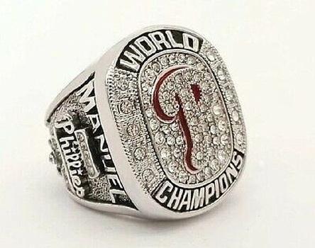 MLB 2008 PHILADELPHIA PHILLIES WORLD SERIES CHAMPIONSHIP REPLICA RING