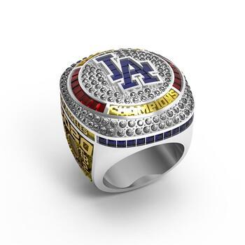 2020 LA Dodgers Championship REPLICA Ring