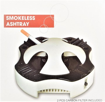 Carbon Filter Smokeless Ashtray For Cigars And Cigarettes