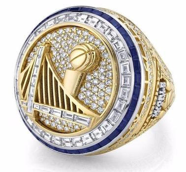 Golden State Warriors 2017 Replica NBA World Championship Ring Size 12