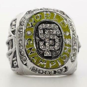MLB San Francisco Giants 2010 World Series Replica Ring Size 11