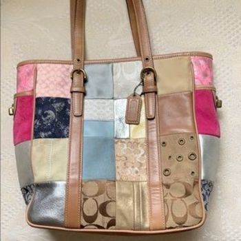 Coach Patchwork Handbag