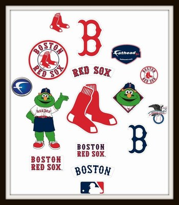 Boston Red Sox Officially FatHead Retail $99.99